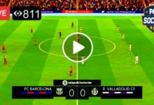 Photo of FC Barcelona vs Real Valladolid  LIVE Football Score 5 April 2021