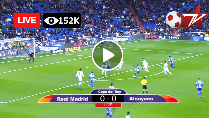 Real Madrid vs Alcoyano, Copa del Rey Live Football Score 20 Jan 2021