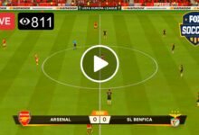 Photo of Arsenal vs Benfica Europa League Live Football Score 25 Feb 2021