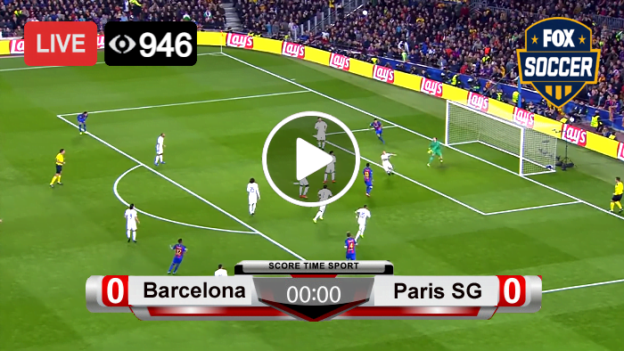Barcelona vs Paris SG Champions League Live Football Score 16 Feb 2021