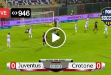 Photo of Juventus vs Crotone Serie A Live Football Score 22 Feb 2021