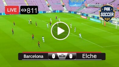 Photo of La Liga Barcelona vs Elche Live Football Score 24 Feb 2021