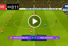 Photo of Manchester United vs. Real Sociedad Europa League Live Football Score 25 Feb 2021