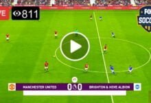Photo of Manchester United VS Brighton – LIVE Reddit Score 4 April 2021