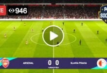 Photo of Arsenal vs Slavia UEFA Europa League. LIVE Football Score 8 April 2021