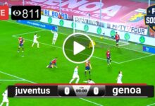 Photo of juventus vs genoa LIVE Football Score 11 April 2021